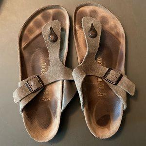 Birkenstock Gizeh Taupe Thong Sandal